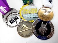 88.9mm 3d design zinc alloy plating custom medals sports award medals for wholesale