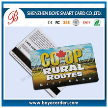 Full Color Offset Printing Magnetic Card With Pvc Material