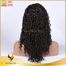 human hair thin skin top lace wig indian remy silk top full lace wig with baby hair