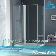 ACIC1801CL No.1 top sale tempered glass shower room