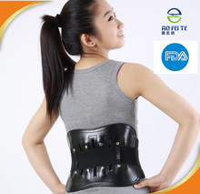 Alibaba express easy use pain relief heating magnets magnetic posture support/lower back support belt for men