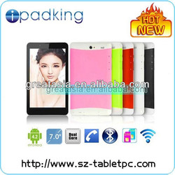 """7"""" mobile phone call android 4.2 dual core cheapest tablet pc with sim slot"""