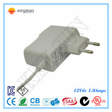 AC to DC 12V 1000mA 1A CCTV Regulated Power Supply Adapter for Home Security Camera Surveillance System