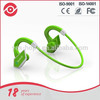 Neckband durable bluetooth retractable earbuds with mic