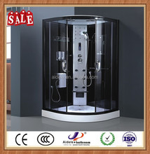 lower hot sale ABS back massage steam shower room with foot massage
