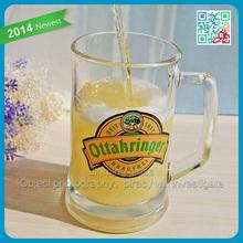 22oz beer stein mug non alcoholic malt beverage beer glas clear glass beer mug with handle