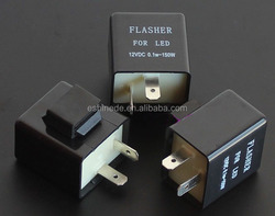 Motorcycle Flasher Relay to fix LED Hyper Flash Fast Blink