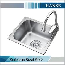K-3832 drop in sink/ frank kitchen sink/ stainless steel sink manufacturer