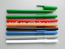 colorful cheap simple stick pen for promotional