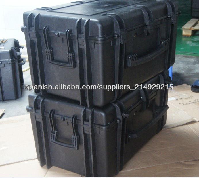 Impermeables cajas de herramientas de pl stico duro con - Cajas de plastico con ruedas ...