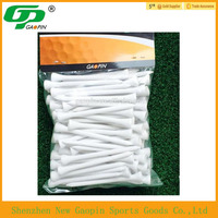 High quality bulk wooden golf tee,unique specialized customized