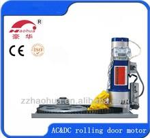 800 kg / 380 W motor eléctrico para el rodillo de la puerta del obturador / rodillo motor de la puerta del