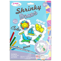 Shrinky dink plastic homemade shrinky dinks arts and crafts