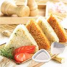 Portátil triângulo formulário Sushi molde DIY Onigiri Rice Ball Bento imprensa fabricante de moldes ferramenta