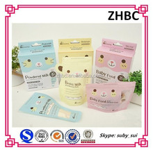Anti-leak Plastic breast milk storage bag/breast milk bag with zipper