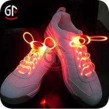 Cordones de los zapatos 2014 Nuevo producto Flashing Colorful Led