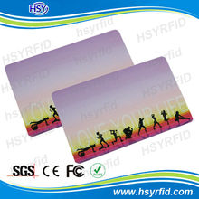 China manufacture 125khz TK4100 customized rfid door access control card