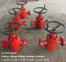 global stainless steel FC type flat gate valve