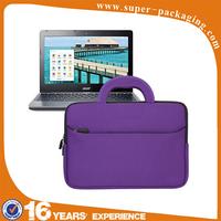 portable handle carrying portfolio neoprene sleeve case bag for laptop case
