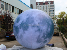 inflatable moon for exhibition /inflatable moon ball