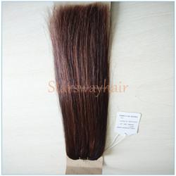 Cheap Virgin Indian Human Hair Weaving, Natural Indian Hair With Thickness