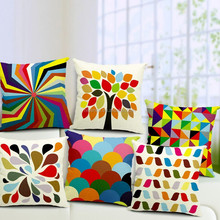 New Modern Geometric Style Sofa Cushion Covers Replacement