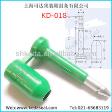 KD-018 ABS Bolt seal, bolt lock,container lock