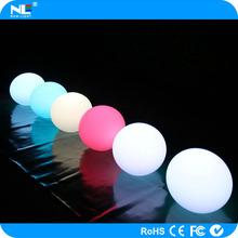 lightweight and portable LED Illuminated swimming pool ball light / floating LED illuminated swimming pool ball light