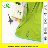 2015 hot sale custom kids cotton hand embroidery handkerchief