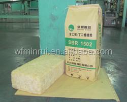 Styrene-Butadiene Rubber SBR for adhesives factory price