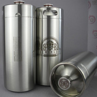 Christmas gift 128OZ growler for stainless steel beer making machines
