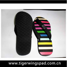2013 Colorful flip flop slipper straw