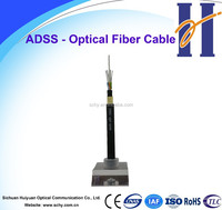 Electric cable -ADSS all dielectric non-metallic 72 fiber single mode fiber optical cable