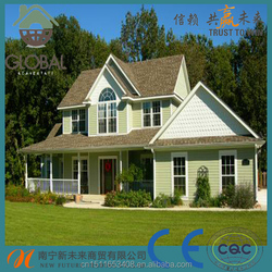 Excellent sound insulation synthetic resin roof tile