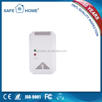 Good price AC110-270V stand alone lpg gas leak detector alarm with shut-off valve