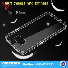 best selling hot chinese products cell phone clear tranparent case for samsung galaxy s6 alpha cover