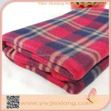 Alibaba China wholesale plaid soft touch baby blankets