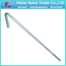 cheap hot sale metal hook tent peg