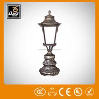 pl 5096 outdoor led christmas star pillar light for parks gardens hotels walls villas