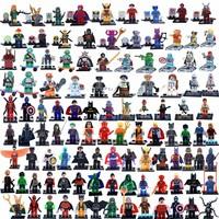2015 Marvel Super Hero Star Wars Figures plastic toy Building Blocks Bricks Model