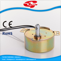small AC motor/synchronous motor for washing machine dewatering systems