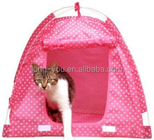 Foldable Dog Tent Folding portable POP UP Pet bed tent house kennel indoor cat cages