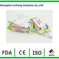 All natural spunlace biodegradable baby wet wipe wholesale
