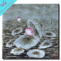 Modern decor leaf painting on canvas wall painting art