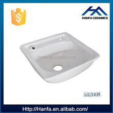 top sanitary backwash basin shampoo bowl