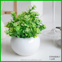 Economic latest artificial long rattan with leaves