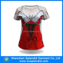 2015 new design womens sex xxl full Printing t shirt