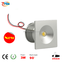 Square led cob downlight 1w/3w,led Mini star light 1w/3w 3V 300mA