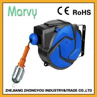 Hot new product for 2015 auto extension electric cord reel with lamp china shop online