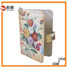 New arrival textiles leather case Book style Stand Leather case for ipad mini2